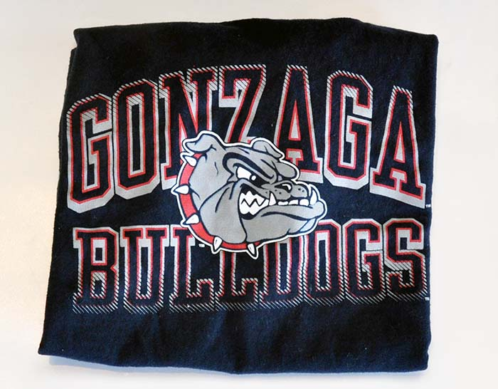 Child's Gonzaga Shirt, circa 2013