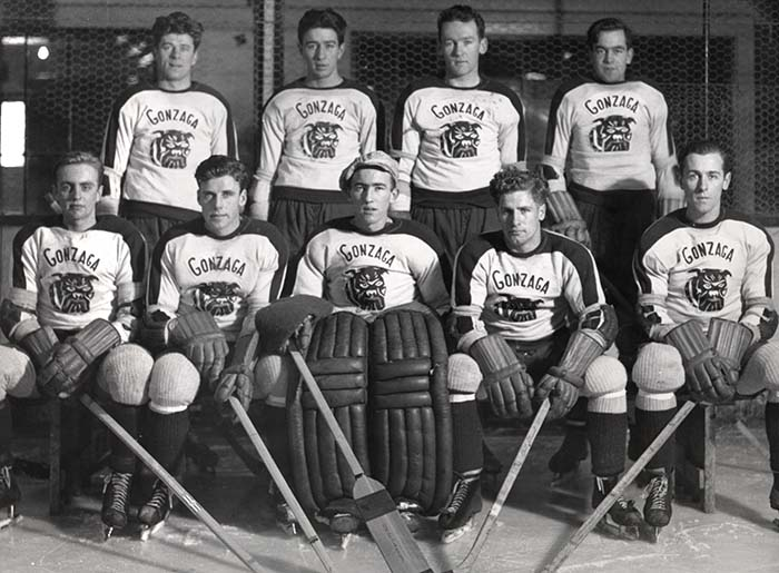 Gonzaga's Hockey Team, 1939