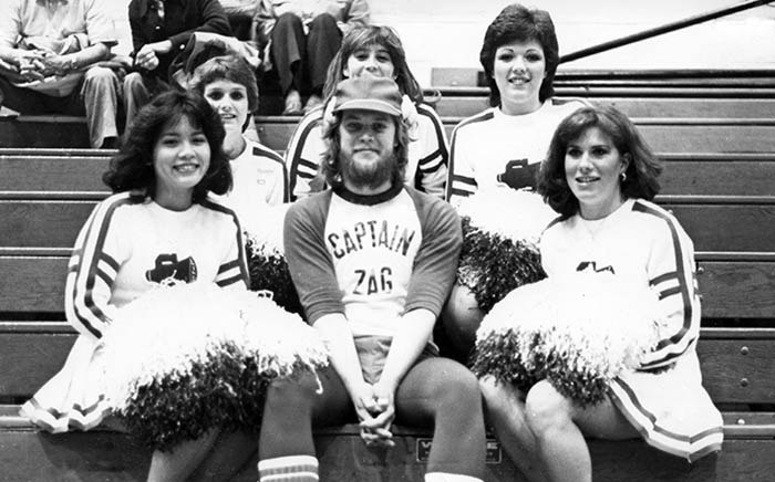 Captain Zag and the cheerleaders, 1981-1982