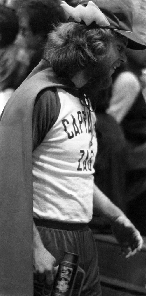 Captain Zag on the court, 1981-1982