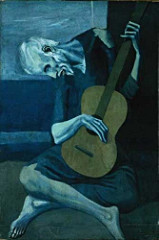 Picasso's The Old Guitarist
