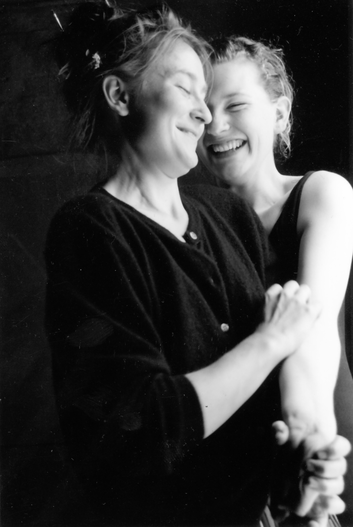 Cate Blanchett and Caroline Lee in a performance