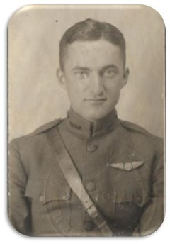 Photograph of Dwight in uniform