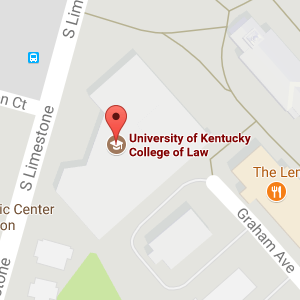 Google map of Law Library location