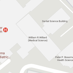 Google map of Medical Center Library location