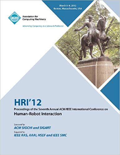 ACM/IEEE International Conference on Human Robot Interaction