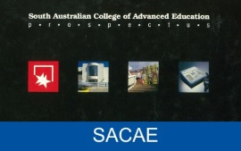 Part of the cover of the 1989 SACAE prospectus.