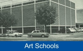 A photo of the School of Art at Stanley Street, North Adelaide.