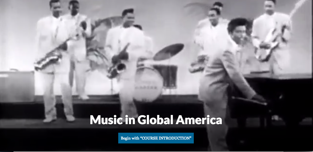 Music in Global America by Marc Thorman