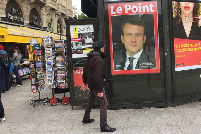French Election: Le Point photo by Lorie Shaull via Flickr