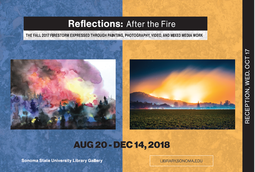 Reflections: After the Fire Postcard