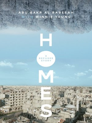 Homes: A Refugee Story book cover and linked to eBook page