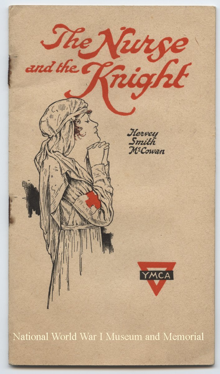 "image of pamphlet cover - ""The nurse and the knight"""