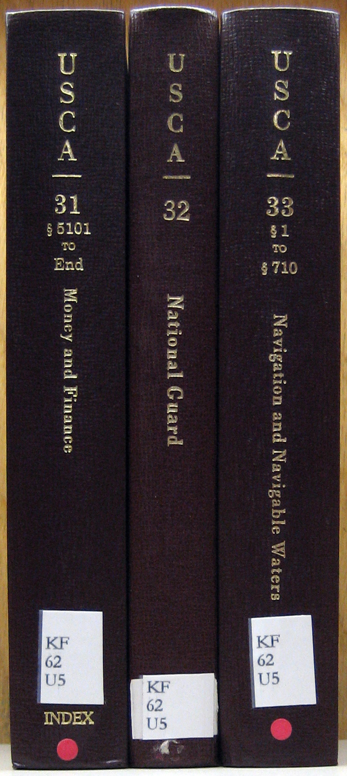 United States Code Annotated books