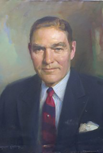 Portrait of Charles Halsey