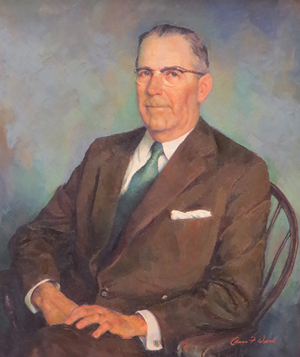 Portrait of Edwin Harmon, M.D.