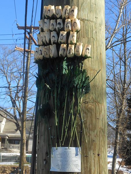 Newtown Shooting Victims Memorial
