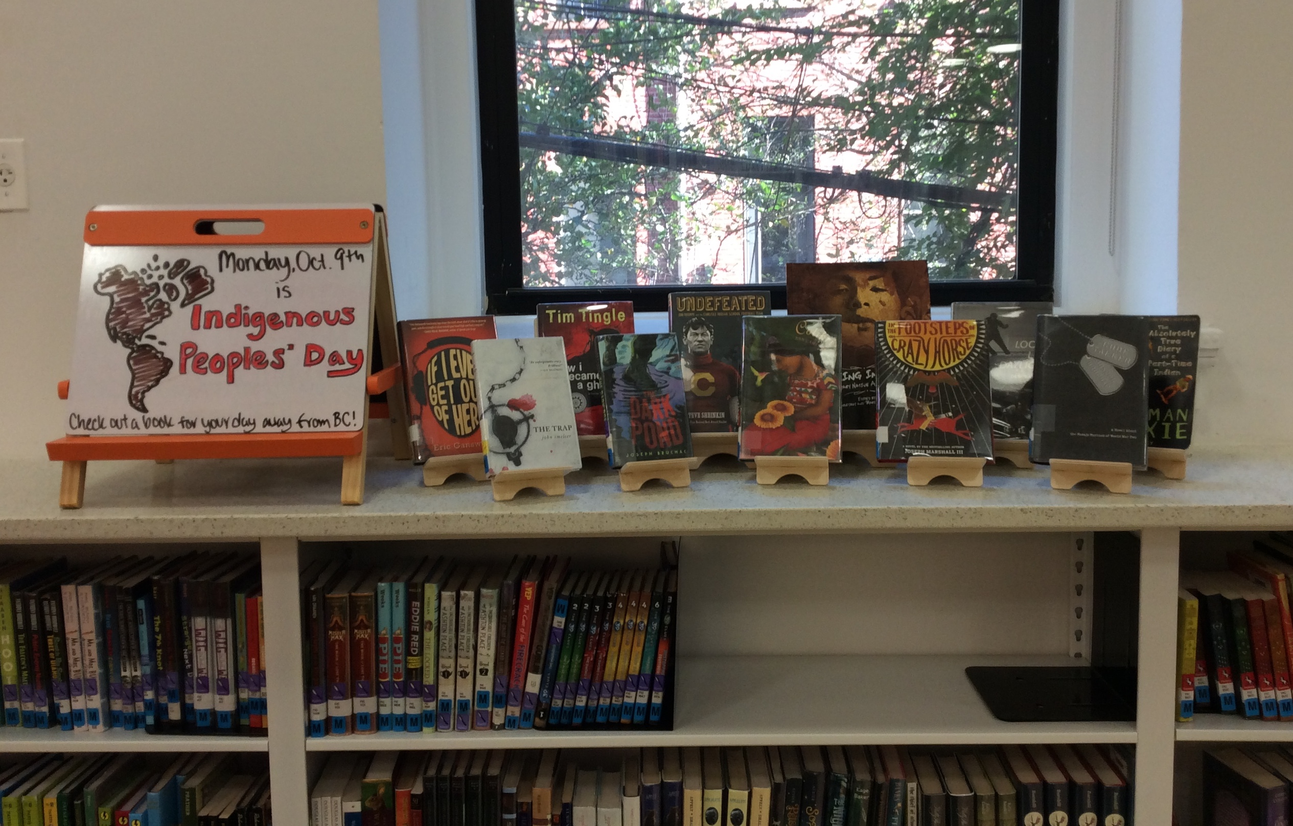 Indigenous Peoples' Book Display