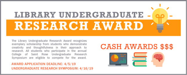 Library Undergraduate Research Award