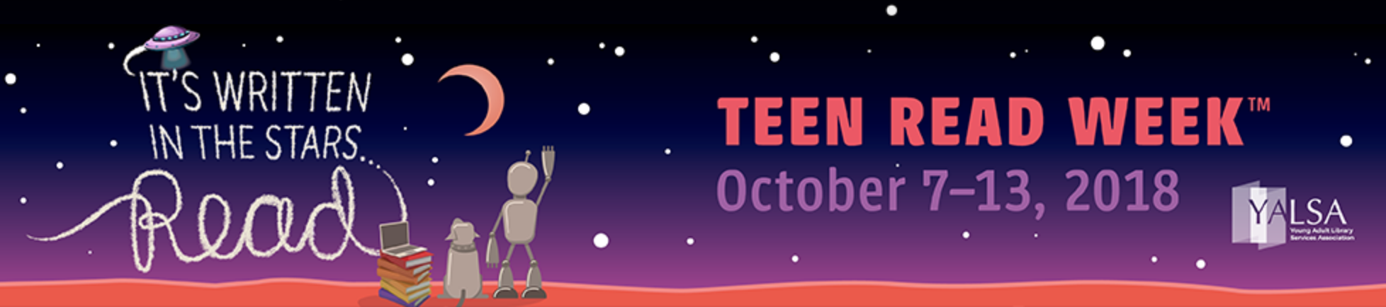 Teen Read Week Banner