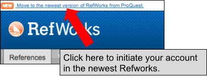 Move to newest version of Refworks