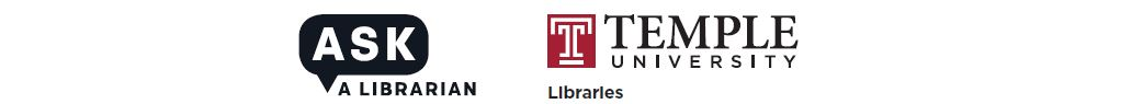 Ask A Librarian and Temple University Libraries