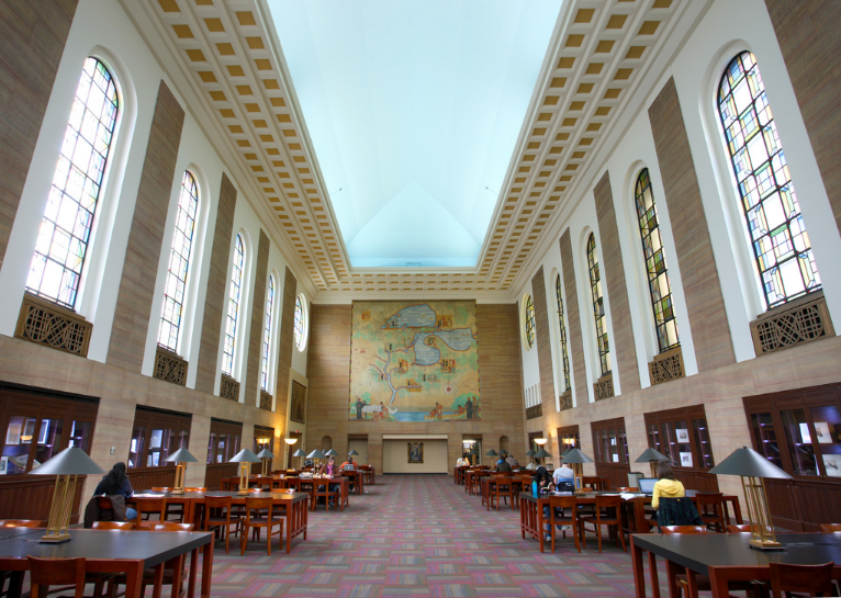 Donovan Reading Room at the Cudahy Library