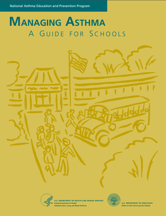 Cover Image of Managing Asthma: A guide for schools