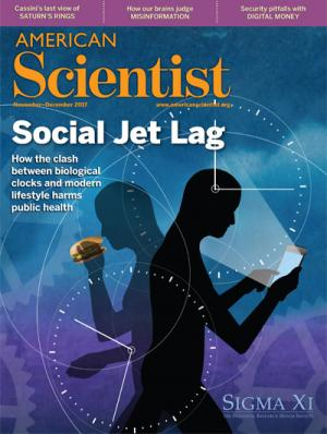 Cover from American Scientist Nov-Dec 2017