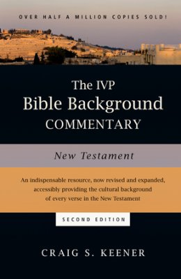 Cover image for the IVP Bible Background Commentary