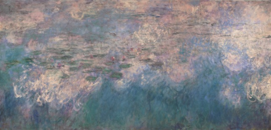 Image of Monet's Water Lilies [panel 2]