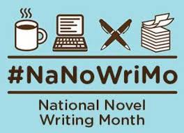 NaNoWriMo Logo and Link