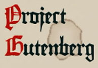 Project Gutenberg Free ebooks logo and link