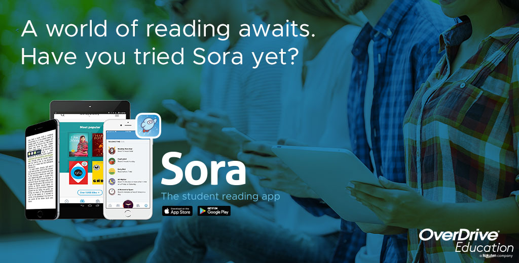 Ad for Overdrive Sora: have you tried Sora yet?