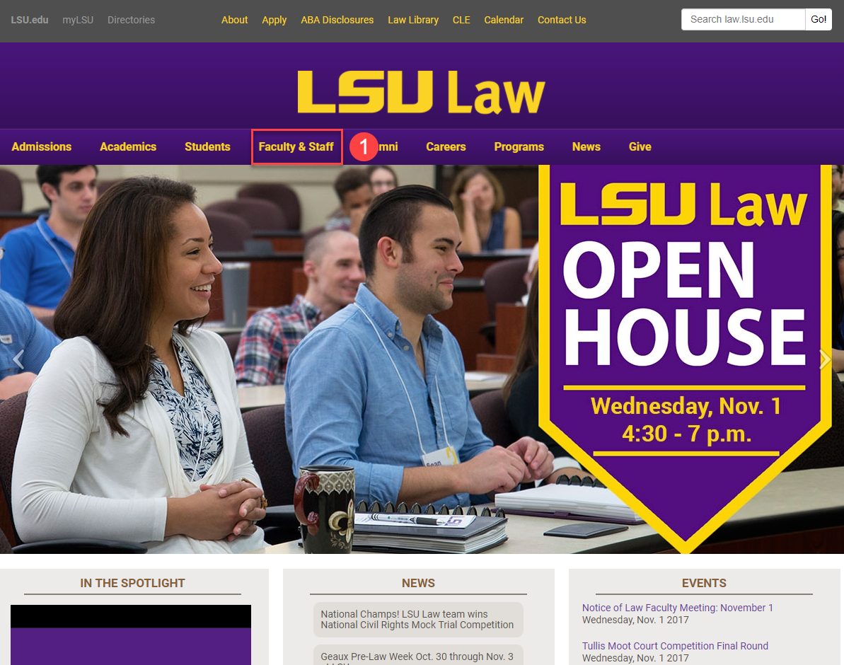 Go to the Law Library Page