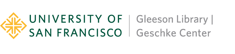 University of San Francisco - Gleeson Library and Geschke Center logo