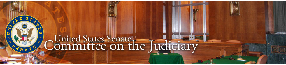U.S. Senate Committee on the Judiciary Logo