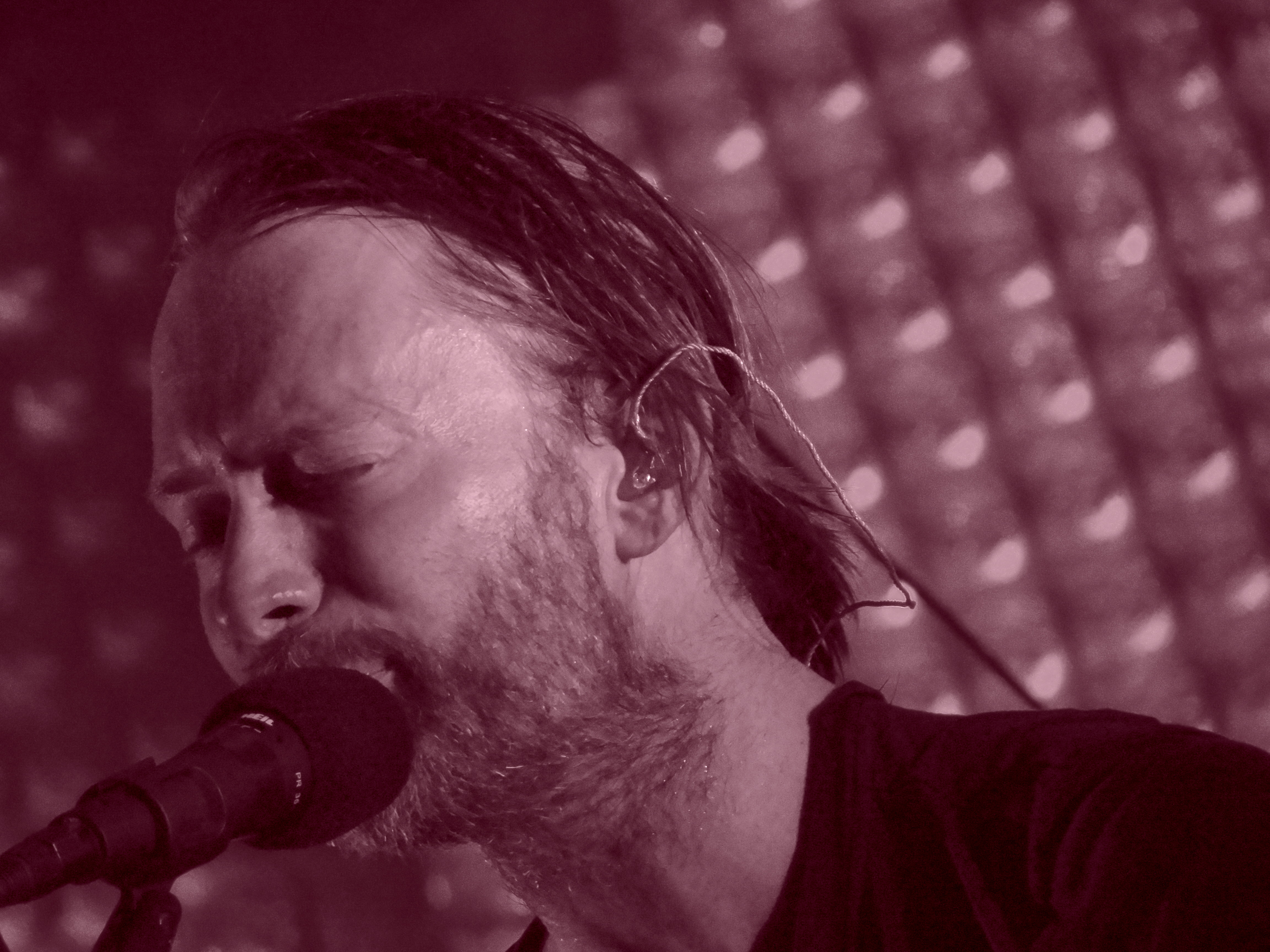 Radiohead photo by Michael Kurman