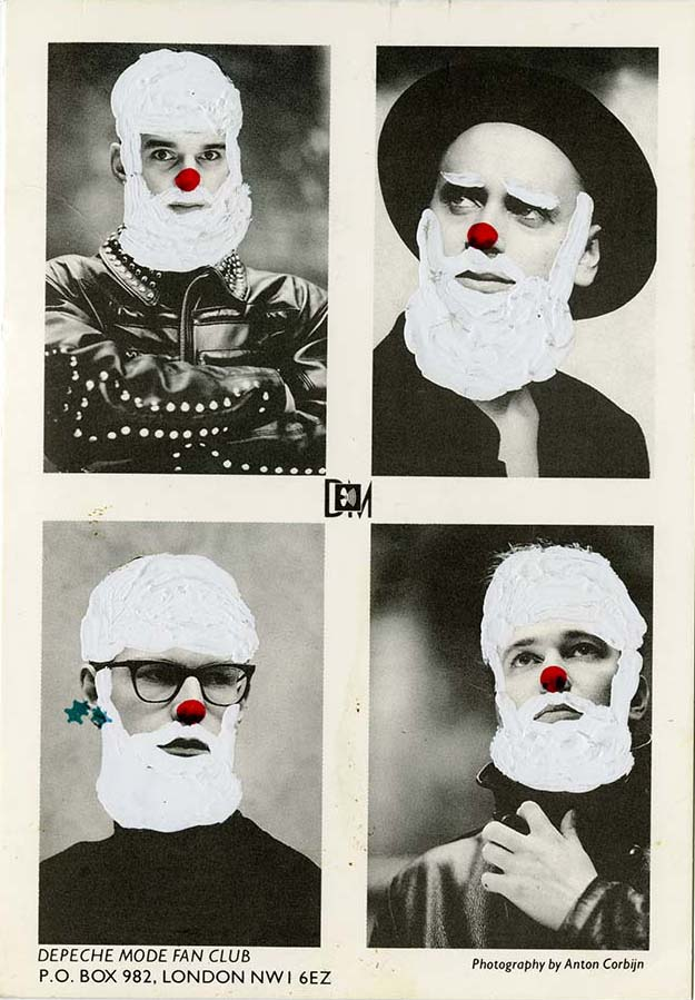Christmas card from Depeche Mode to Seymour Stein