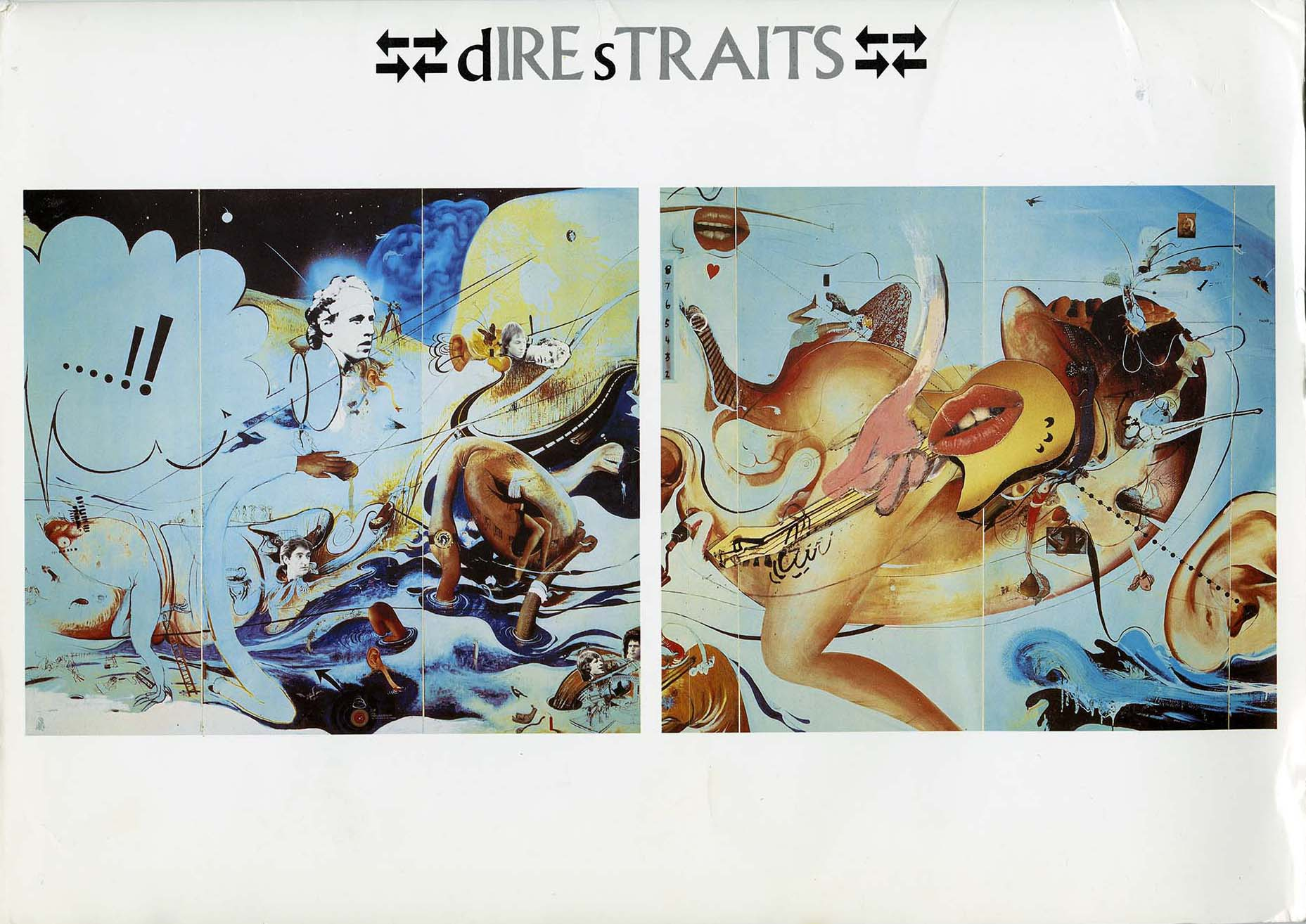 Dire Straits album art