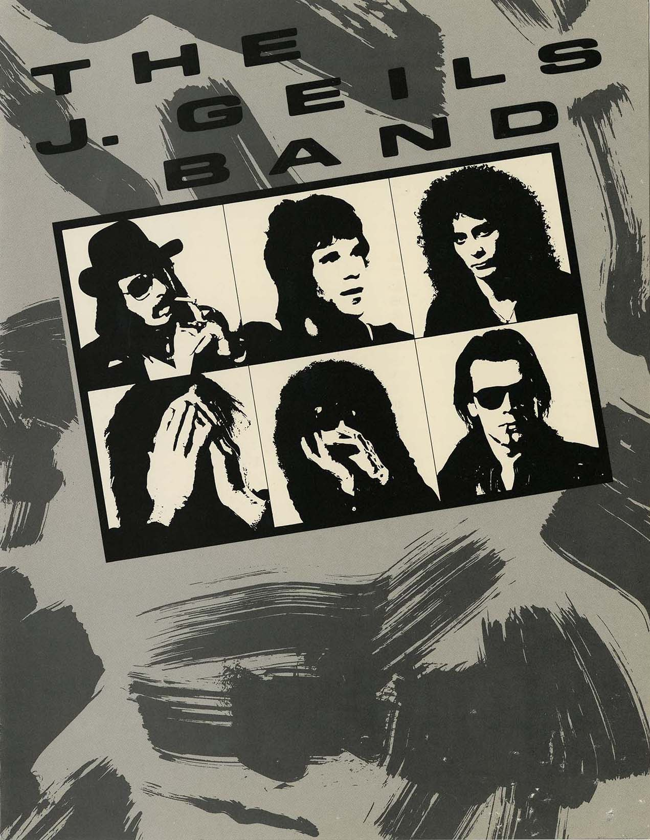 J. Geils Band program