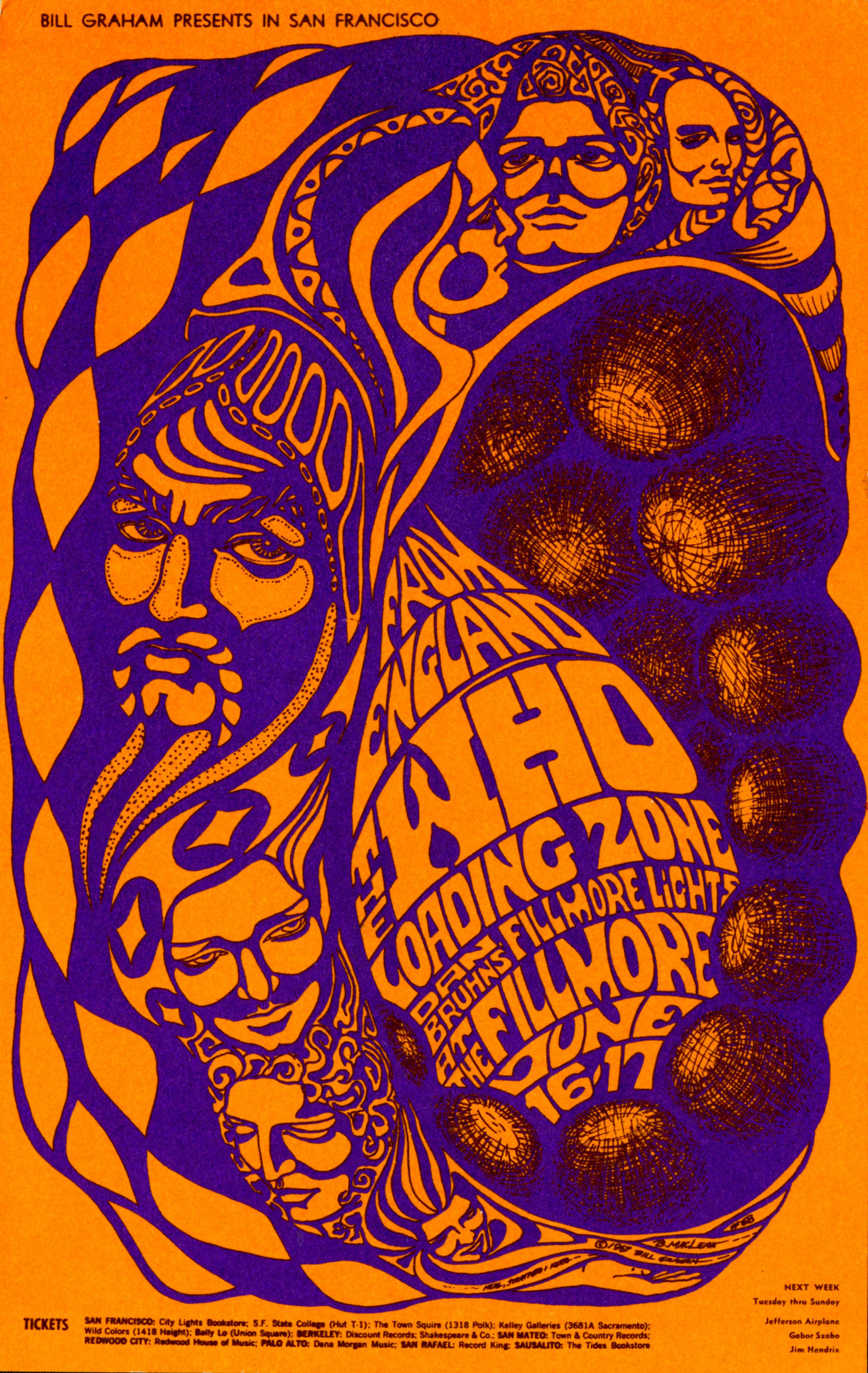 Fillmore handbill featuring the Who
