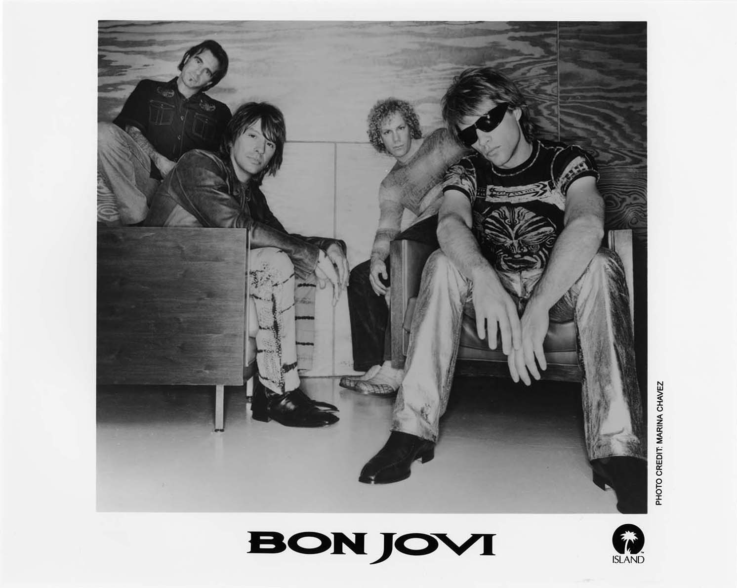 Promotional photo of Bon Jovi