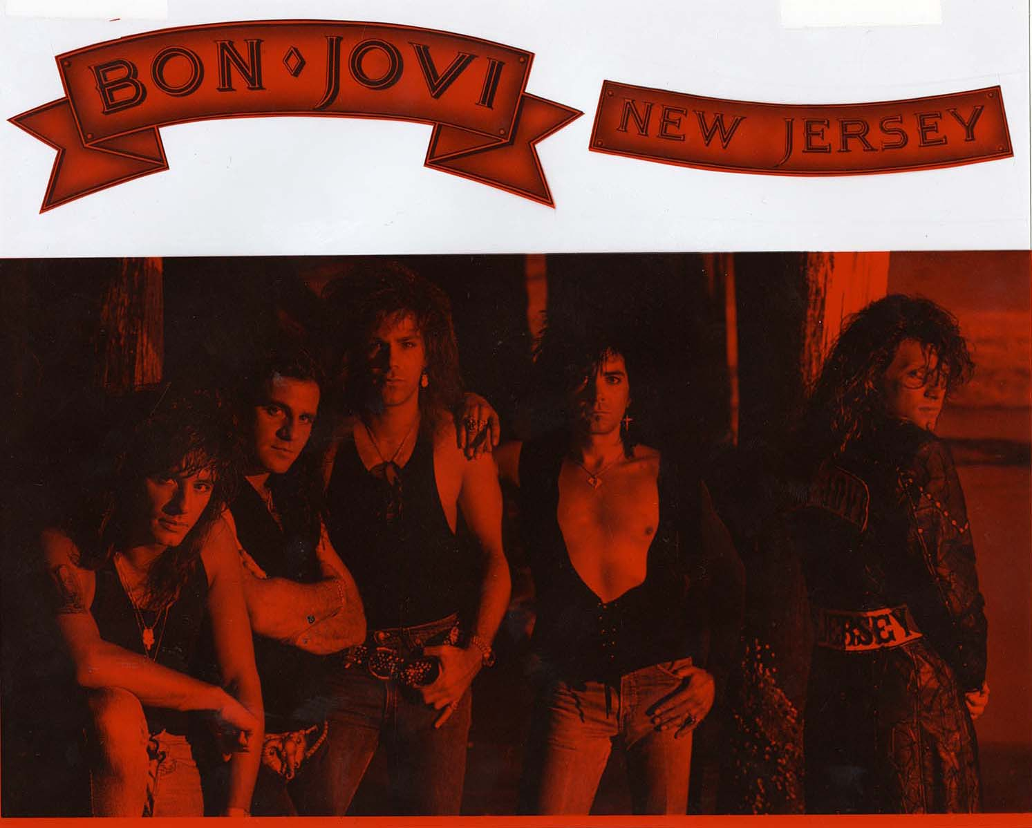 Bon Jovi promotional item