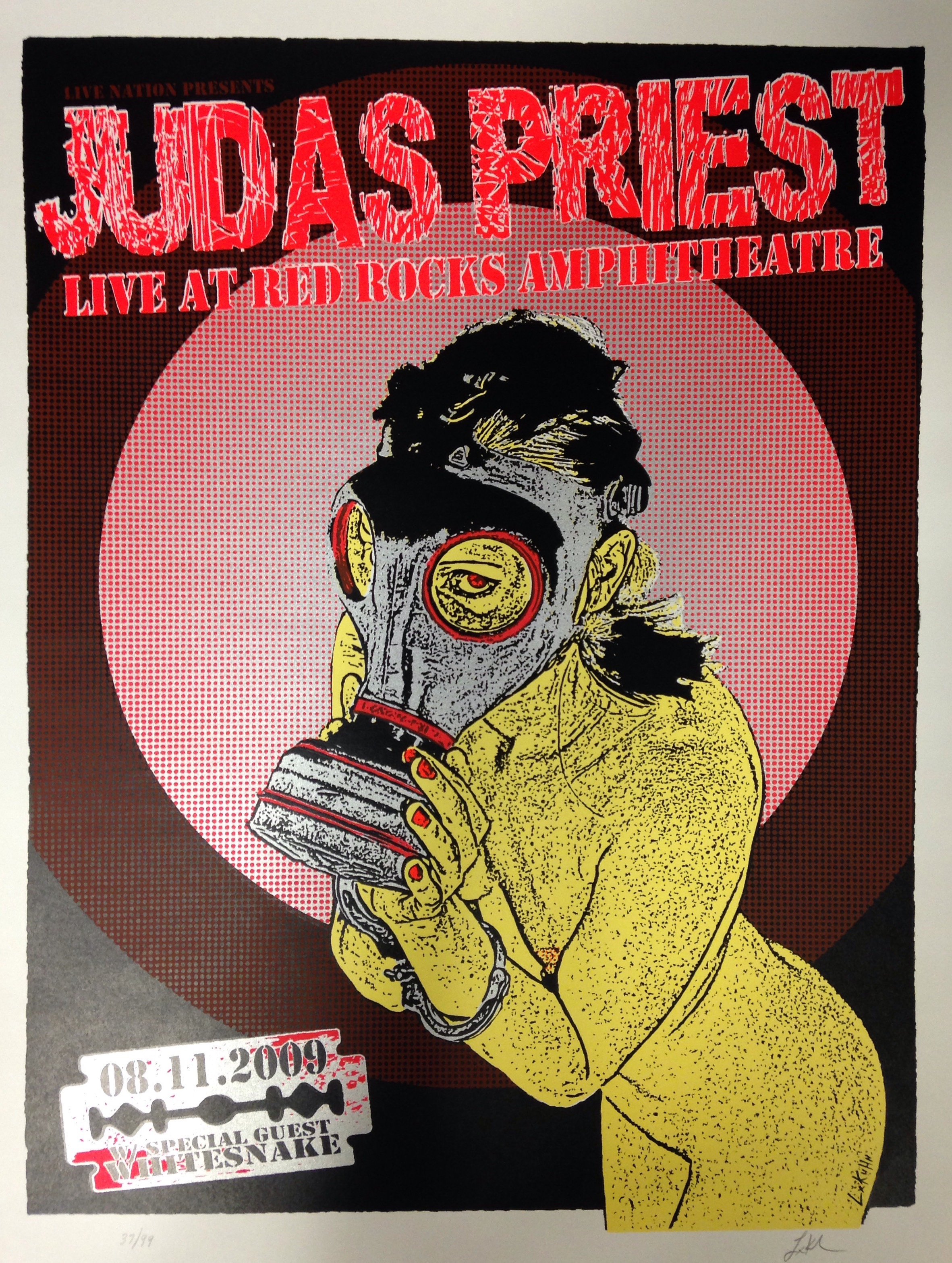 Poster live at Red Rocks 2009