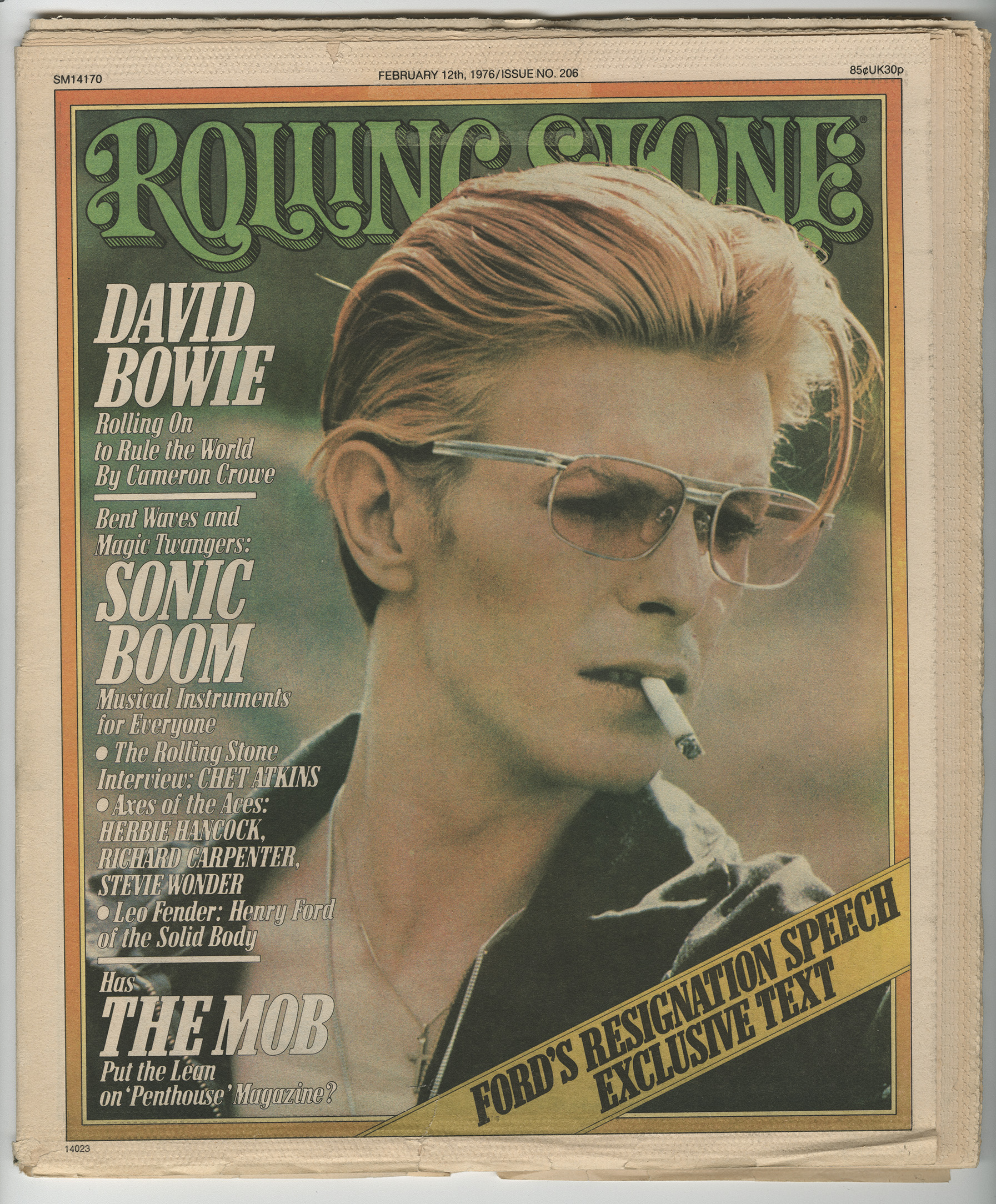 Rolling Stone David Bowie cover