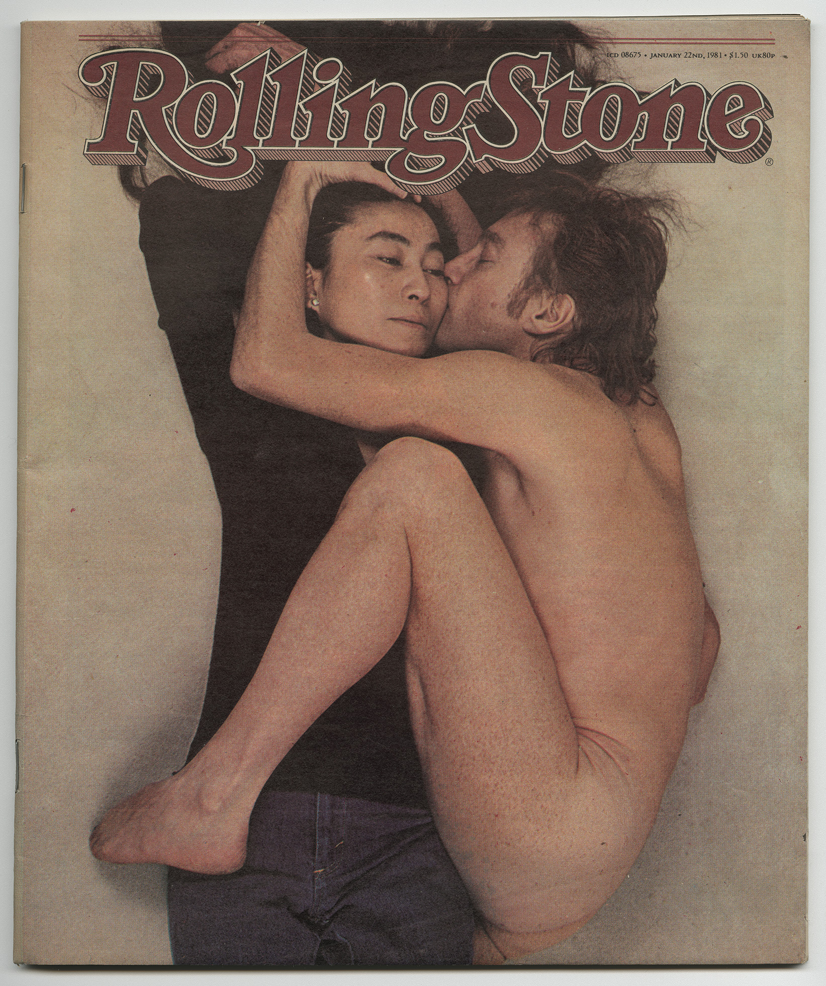 Rolling Stone John and Yoko cover