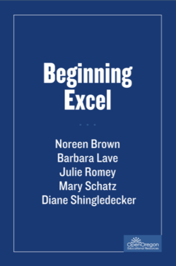 beginning excel book