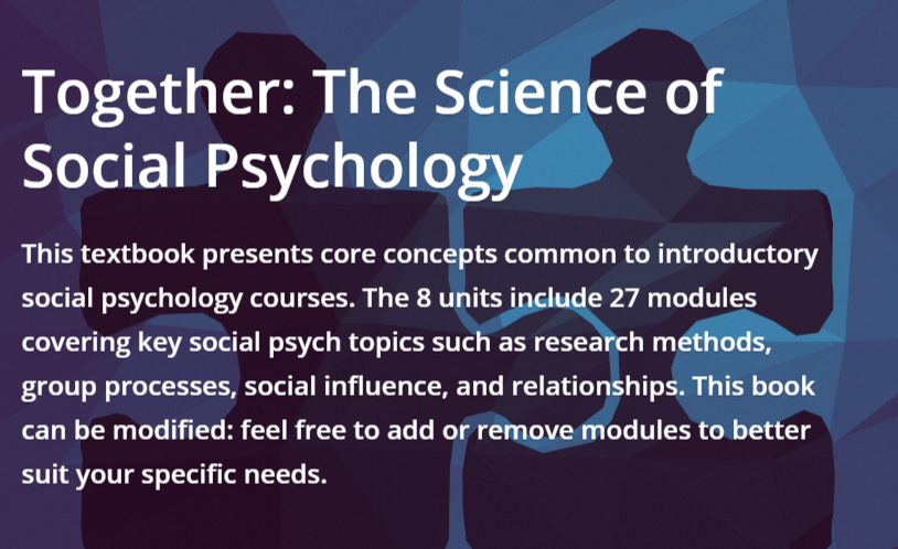 the science of social psychology