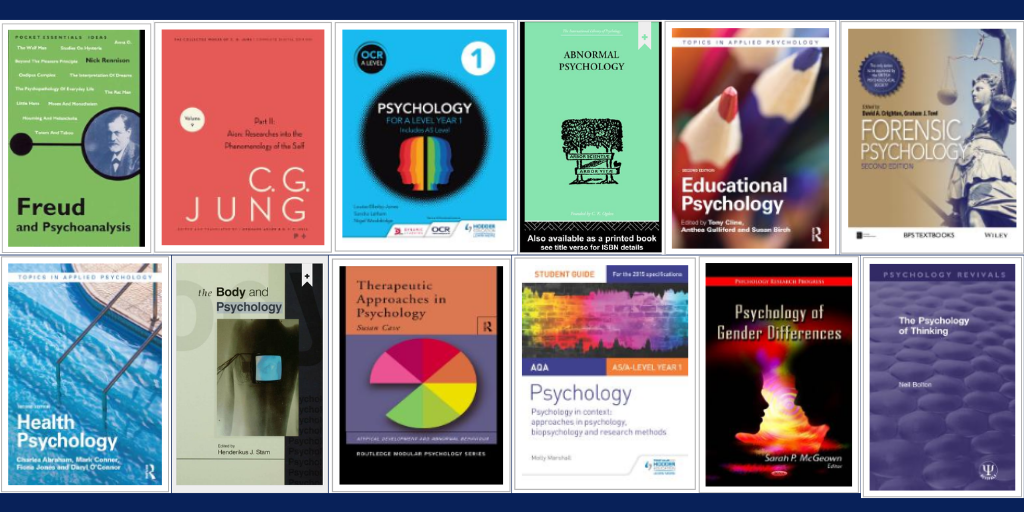 psychology book covers